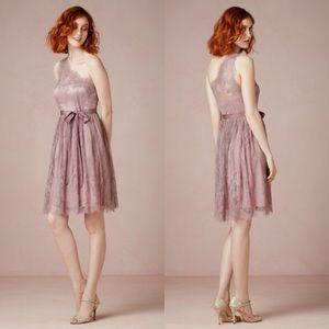 Anthropologie for BHLDN Ariel One Shoulder Dress